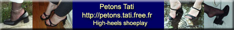 Petons Tati - Fétichisme des pieds féminins